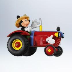 2012 Disney - Mickey Down On The Farm Hallmark Ornament