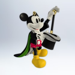 2012 Disney - Mickey's Masterpieces #1 Hallmark Ornament