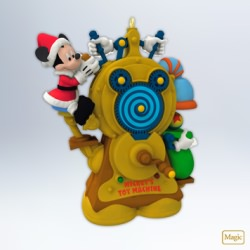 2012 Disney - Mickey's Toy Machine Hallmark Ornament