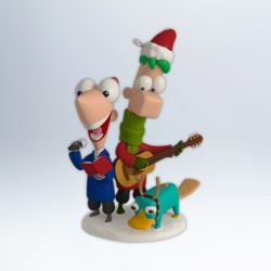 2012 Disney - Phineas And Ferb - Perry Christmas Hallmark Ornament