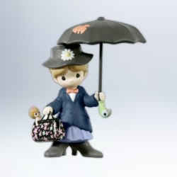 2012 Disney - Precious Moments - Mary Poppins Hallmark Ornament