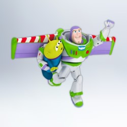 2012 Disney - Toy Story - Buzz To The Rescue! Hallmark Ornament