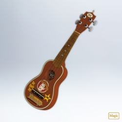 2012 Disney - Toy Story - Woody's Roundup Guitar Hallmark Ornament