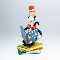 2012 Dr Seuss  A Clever Cat Hallmark Ornament