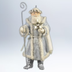 2012 Father Christmas #9 Hallmark Ornament