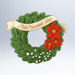 2012 Feliz Navidad Hallmark Ornament