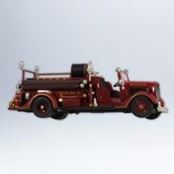 2012 Fire Brigade - 1936 Ford Fire Engine #10 Hallmark Ornament