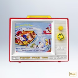 2012 Fisher Price - Two Tune Tv Hallmark Ornament