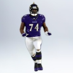 2012 Football Legends #18 - Michael Oher Hallmark Ornament