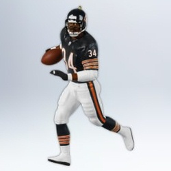 2012 Football - Walter Payton Hallmark Ornament