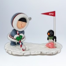 2012 Frosty Friends #33 - Golf Hallmark Ornament