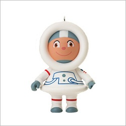 2012 Frosty Friends - Astronaut Frosty Hallmark Ornament