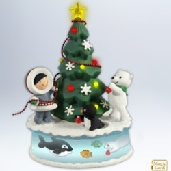 2012 Frosty Friends - Trimming The Tree Hallmark Ornament