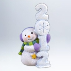 2012 Frosty Fun Decade #3 Hallmark Ornament