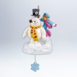 2012 Frosty The Snowman - Comes To Life Hallmark Ornament