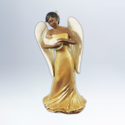 2012 Golden Messenger Hallmark Ornament