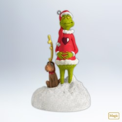 2012 Grinch - The Growing Heart Hallmark Ornament