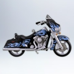 2012 Harley Davidson #14 - 2011 Street Glide Flhx Hallmark Ornament