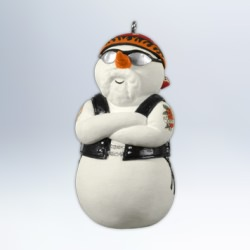 2012 Harley - Snowy Rider Hallmark Ornament