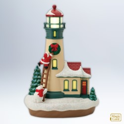2012 Holiday Lighthouse #1 Hallmark Ornament