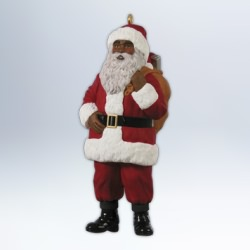 2012 Jolly Santa Hallmark Ornament