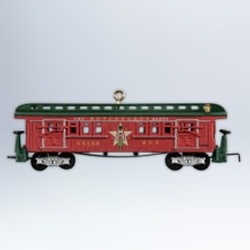 2012 Lionel Nutcracker Route Baggage Car Hallmark Ornament
