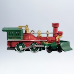 2012 Lionel  Nutcracker Route Christmas Train #17 Hallmark Ornament