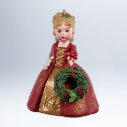 2012 Madame Alexander #17 - Colonial Christmas Hallmark Ornament