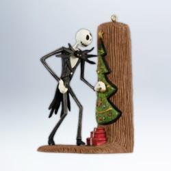 2012 Nightmare Before Christmas - Jack Sneaks A Peek Hallmark Ornament