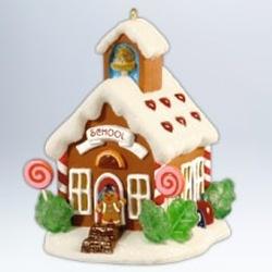 2012 Noelville #7 - Schoolhouse Hallmark Ornament