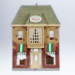 2012 Nostalgic Houses #29 - Mama's Ristorante Italiano Hallmark Ornament