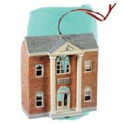 2012 Nostalgic Houses - Public Library Hallmark Ornament