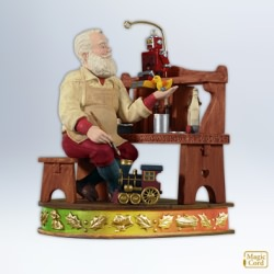 2012 Once Upon A Christmas #2 - Time For Toys Hallmark Ornament