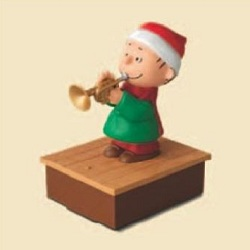 2012 Peanuts Band - Linus - NB Hallmark Ornament