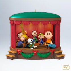 2012 Peanuts - Onstage Antics Hallmark Ornament