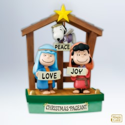 2012 Peanuts Pageant Hallmark Ornament
