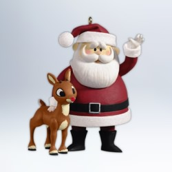 2012 Rudolph - Wont You Guide My Sleigh Hallmark Ornament