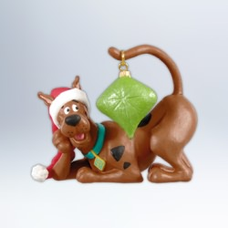 2012 Scooby Doo - Very Merry Scooby Hallmark Ornament