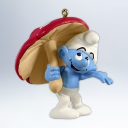 2012 Smurfy Days Hallmark Ornament
