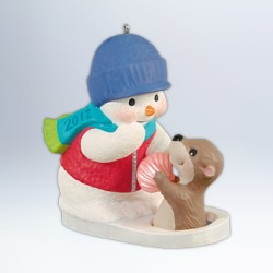 2012 Snow Buddies #15 Hallmark Ornament