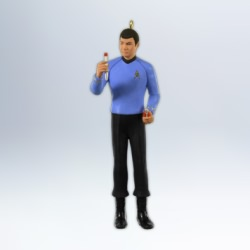 2012 Star Trek #3 - Dr. Leonard 'bones' Mccoy Hallmark Ornament