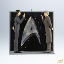 2012 Star Trek - An Extraordinary Meeting Hallmark Ornament