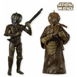 2012 Star Wars - 4-lom And Zuckuss - Sdcc Hallmark Ornament