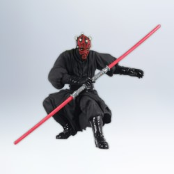 2012 Star Wars - Sith Apprentice Darth Maul Hallmark Ornament