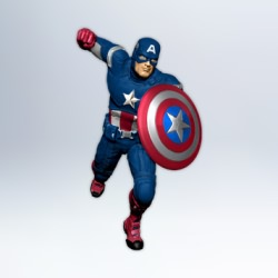 2012 The Avengers - Captain America Hallmark Ornament