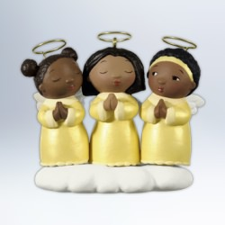 2012 Three Little Angels Hallmark Ornament