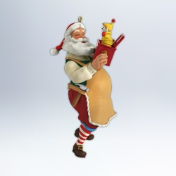 2012 Toymaker Santa #13 - Jack In The Box Hallmark Ornament