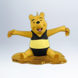 2012 Winnie The Pooh - Everything Is Honey Hallmark Ornament