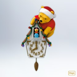 2012 Winnie The Pooh - Pooh-koo Clock Hallmark Ornament