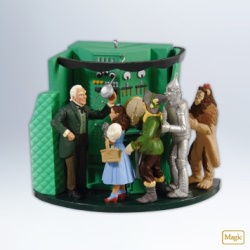2012 Wizard Of Oz - The Man Behind The Curtain Hallmark Ornament